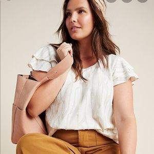 Anthropologie NWT Dolan Charmante Textured Top